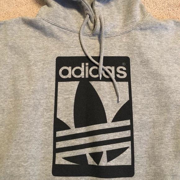 Adidas men's hoodie. Large .